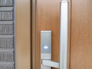 電子錠玄関