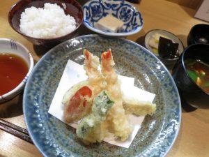 みよし天ぷら定食