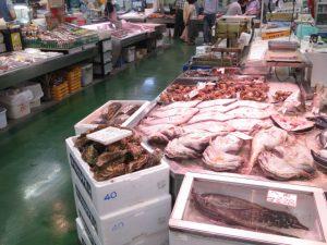 釧路和商市場売り場