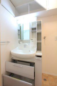 コスモクリアD203の洗面所