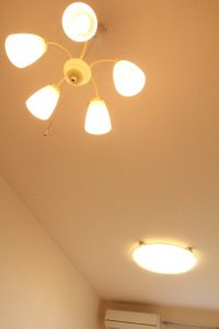 コスモクリアD203の照明