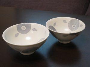 砥部焼陶彩窯の茶碗