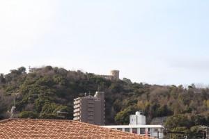 コスモクリアC棟の西側