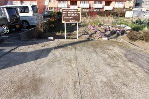 コスモクリアの来客用駐車場