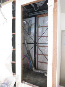 コスモクリアB105の解体の浴室
