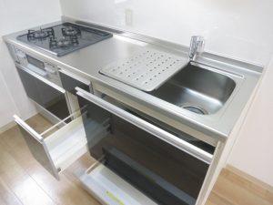 コスモクリアD105のシステムキッチン
