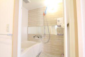 コスモクリアB205のリノベーションの浴室