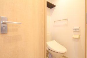コスモクリアB205のリノベーションのトイレ