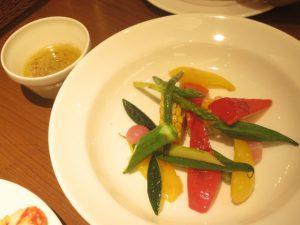セラフィーナの彩り温野菜