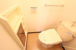 コスモクリアA103のトイレ
