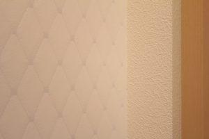 コスモガーデンリーフのトイレのアクセントクロス