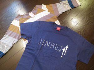 沖縄の観光のお土産のTシャツ