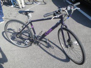 しまなみのレンタルしたクロスバイク