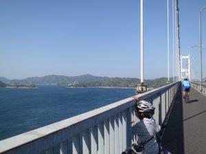 しまなみの来島海峡大橋