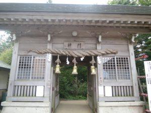 石鎚の神門
