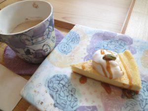 ミロコのチャイとチーズケーキ入口