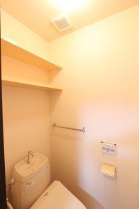 コスモクリアB203のトイレ