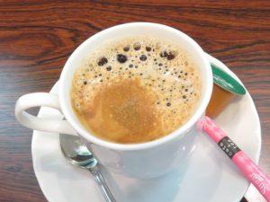 欅のコーヒー