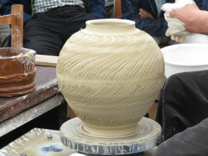 伝統工芸士展の実演2