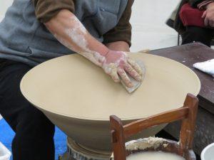 伝統工芸士展の実演3