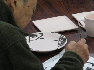 伝統工芸士展の実演4