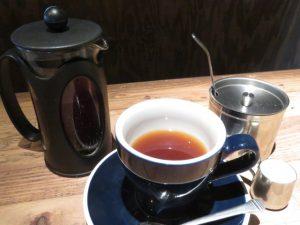 スクラップヤードのコーヒー