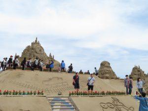 鹿児島の砂の祭典