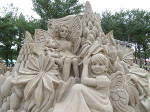 鹿児島の砂の祭典の作品