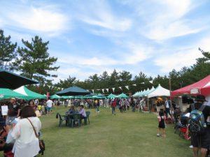 鹿児島の砂の祭典の雑貨ブース