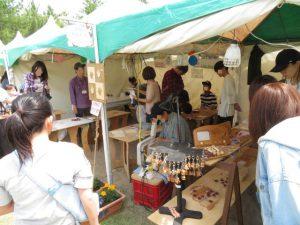 鹿児島の砂の祭典の雑貨ブースの体験