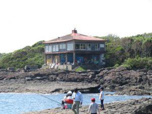 鹿児島の番所鼻自然公園のタツノオトシゴハウス