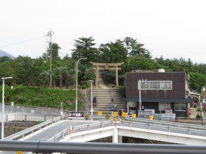 鹿児島の桜島の月読神社