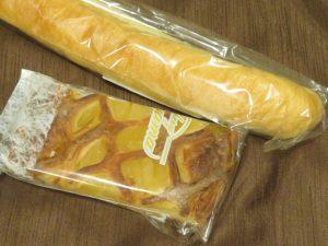 鹿児島のみやげ横丁のSHIROYAMAHOTELのパン