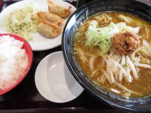 CoCo壱番屋の揚げ餃子セット