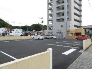 アマルフィの駐車場