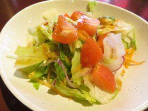 茜屋のサラダ