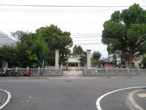 大協に隣接の阿沼美神社