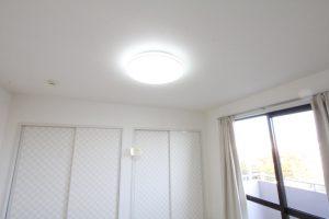 コスモビュー202の和室の照明