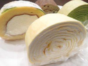 グルメ&スイーツ博のミルクレープのロールケーキ
