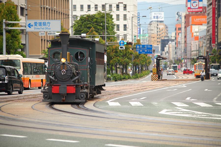 画像:坊ちゃん列車