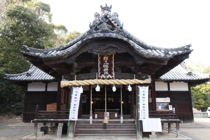画像:朝日八幡神社