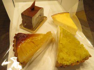 かき氷2020のGIVのケーキ