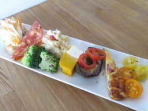 subakoのランチの前菜