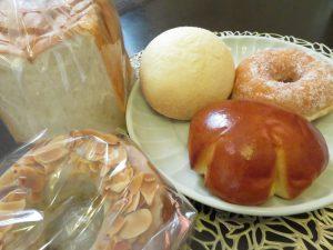 晴れの日のパン