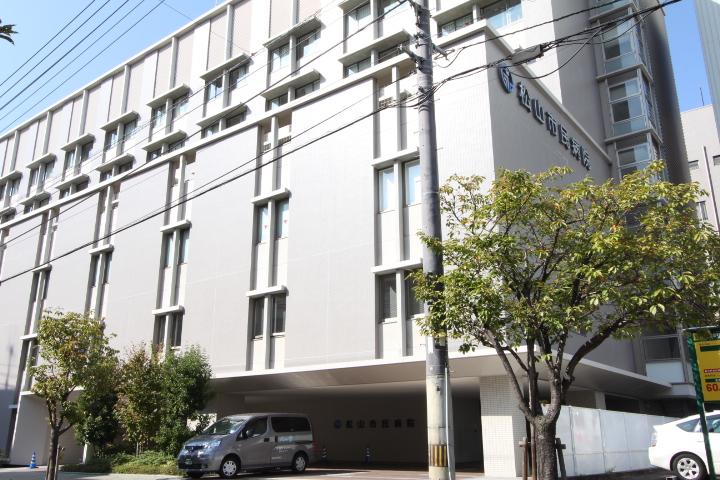 画像:松山市民病院