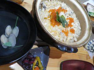 真と響未の土鍋ご飯