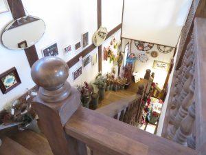 相原バラ園の階段