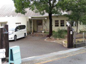 MOKUの敷地入り口