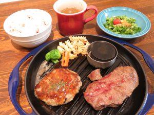 肉銀食堂のハンバーグ&ステーキ