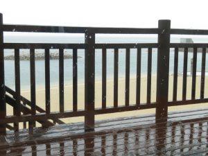 モンドブルーからの海